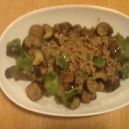 茄子の炒め物の味付けはインスタントを使っていましたが、家にある調味料で十分美味しくできますね! 勉強にしました。ありがとうございました(*^^)v