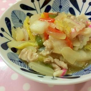 豚肉と白菜のうま煮☆7種具材の八宝菜
