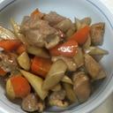 ごぼうと鶏肉の旨煮