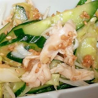 鶏ささみのバンバンジー風サラダ