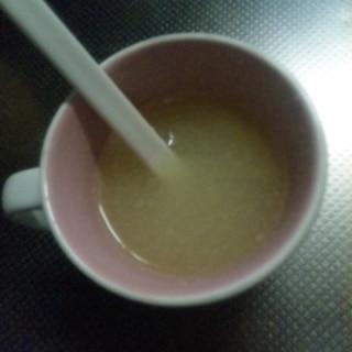 風邪引きさんに★大根おろしの温まる飲み物