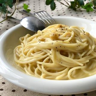 超絶簡単!美味♡コーンスープパスタ