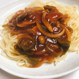 名古屋名物☆あんかけスパゲティ