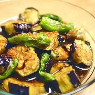 お惣菜やさん直伝★なすとししとうのひんやり煮浸し