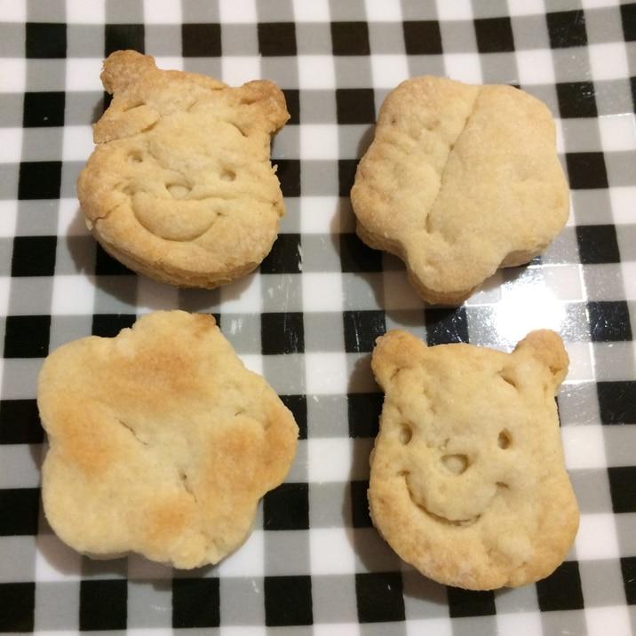 材料4つ!簡単さくさくクッキー