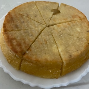さつまいもとHMで超簡単☆スイートポテトケーキ