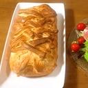 ミートローフのパン包み