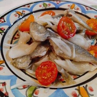 豆鰺のエスカベッシュ(南蛮漬け)☆