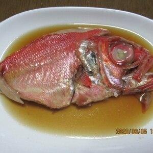 プロから教わった金目鯛の煮つけ