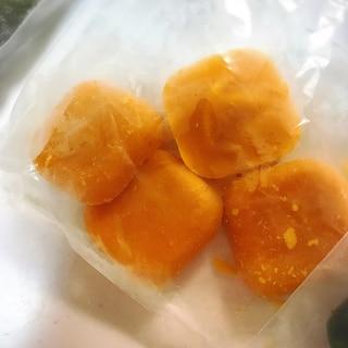 離乳食初期 かぼちゃペースト