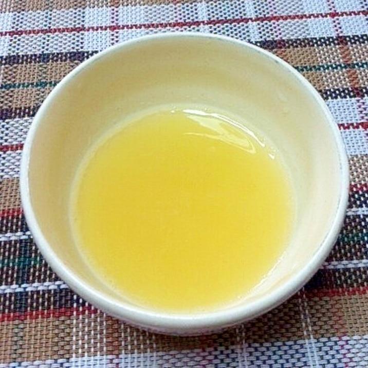 離乳食初期♪桃のピューレ☆