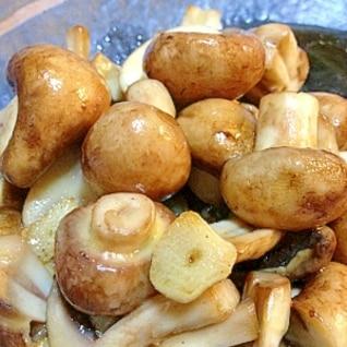 ♡ブラウンマッシュルームのガーリック炒め♡