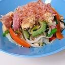 野菜たっぷり麩チャンプルー