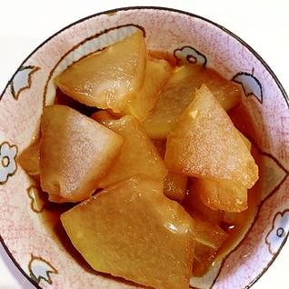 とっても簡単♪麺つゆだけで作る冬瓜の煮物