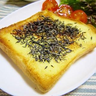 塩ひじきトースト