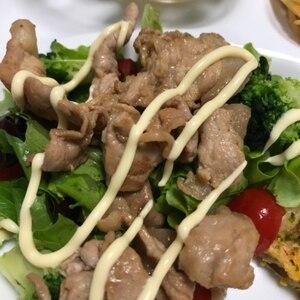 野菜をいっぱい食べられる!焼肉風カルビサラダ大葉巻
