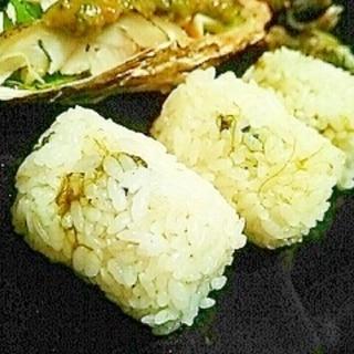 炊飯器で簡単、青のり原藻ご飯