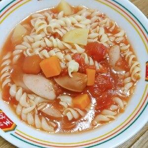 マカロニ入りミネストローネスープ☆食べるスープ