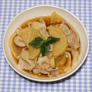 NHK☆きょうの料理☆割干大根で豚バラ大根の甘辛煮