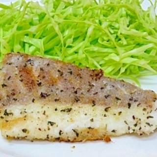 フライパンで焼く♪ 鯛の香草パン粉焼き
