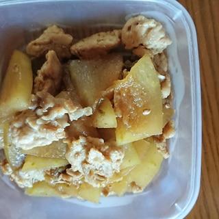 冬瓜のイチジクジャム炒め