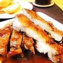 鶏もも肉のたっぷり赤ワイン煮