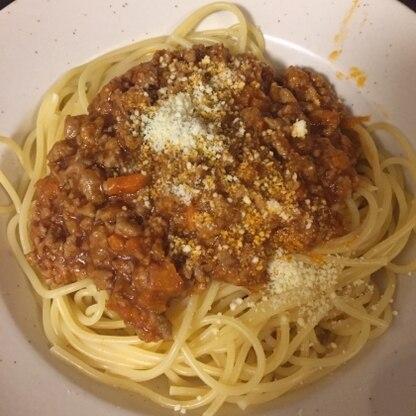トマトをたくさん頂いたのでレシピ参考にさせてもらいました!  美味しくできました。 ありがとうございます