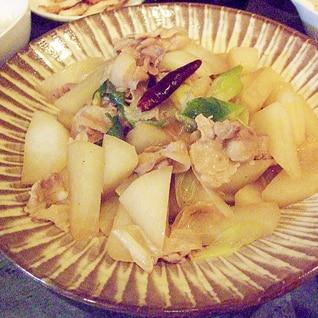 絶品!豚バラ肉と大根の炒め煮