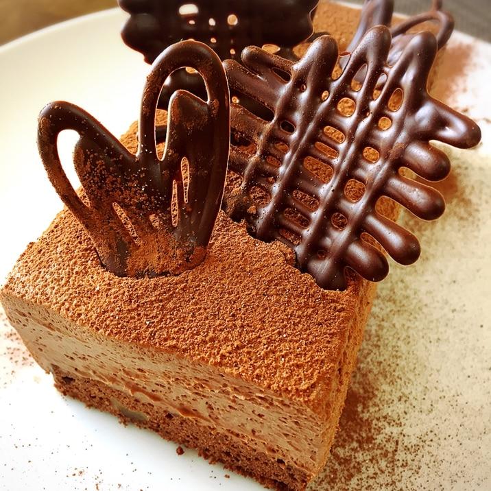 大人味♡濃厚ショコラコーヒームース