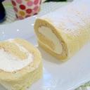 練乳クリーム de 米粉のロールケーキ