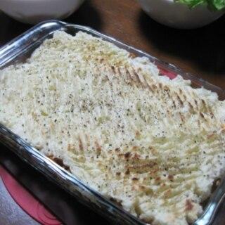 大豆ミートのシェパーズパイ◇ポテトのパイ