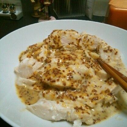 蒸しどりにかけて食べました。 実はなんどもリピしてます。 グリルチキンやフライドポテトにつけています