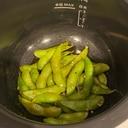 【ホットクック】ビールに合う!焼き枝豆