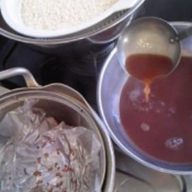 おこわの炊き方