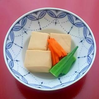 高野豆腐のふっくら含め煮