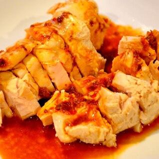 【簡単】圧力鍋で鶏むね肉のよだれ鶏風