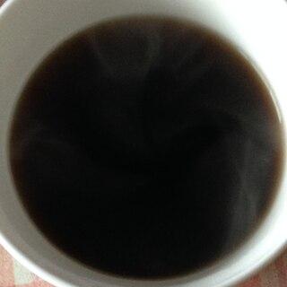 黒蜜とブランデーのコーヒー