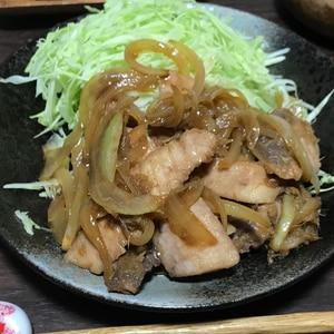 メカジキの生姜焼き