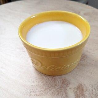 片栗粉でとろ〜りミルクプリン