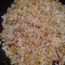 冷ごはんから作るネギツナ炒飯