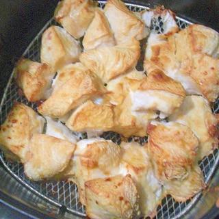 ノンフライヤーで鶏胸肉焼き