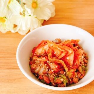キムチ納豆✧˖°