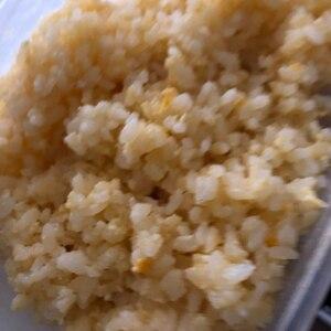 レンジで2分★ふわふわ卵チャーハン