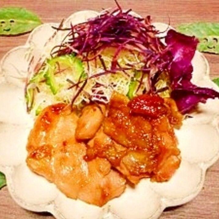 照り レシピ 鶏肉 焼き