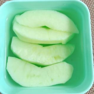 変色しないりんごをお弁当に入れよう!
