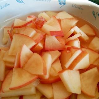 簡単! リンゴのはちみつ煮 電子レンジ編!