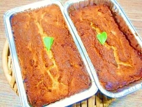 おからパウダー☆バナナパウンドケーキ
