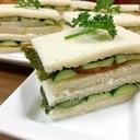 和風で大人・わさびマヨのかまぼこサンドイッチ