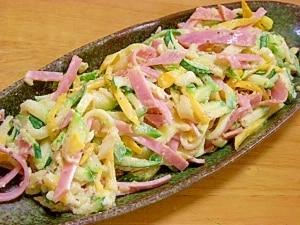 【ズッキーニを茹でます】ズッキーニのサラダ レシピ・作り方