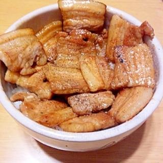 「帯広 とん田」っぽい豚丼!マジうましっ!